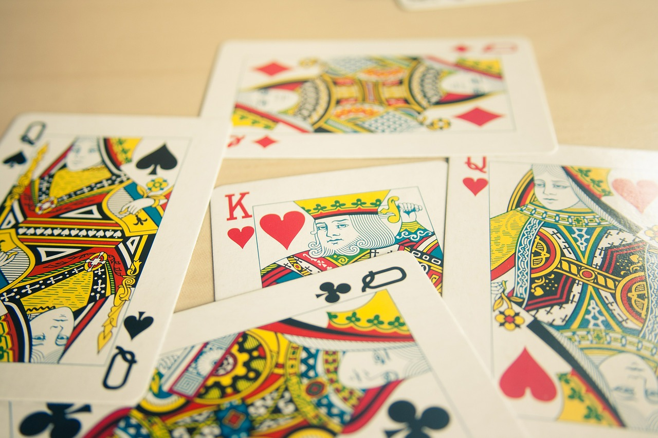card deck kings queens free picture