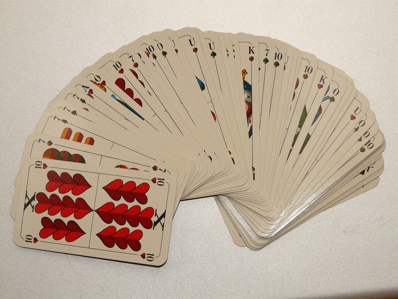 card game cards ten free picture
