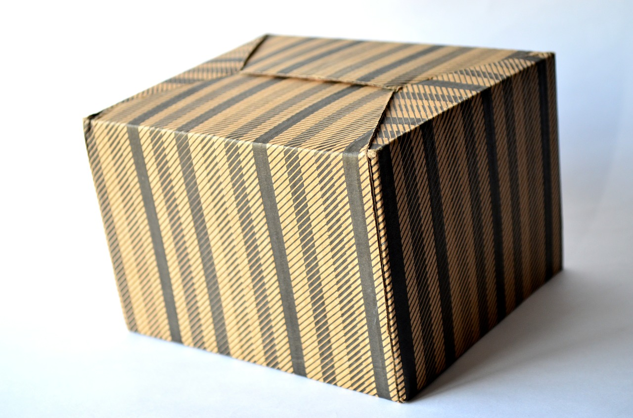 cardboard box box gift free picture