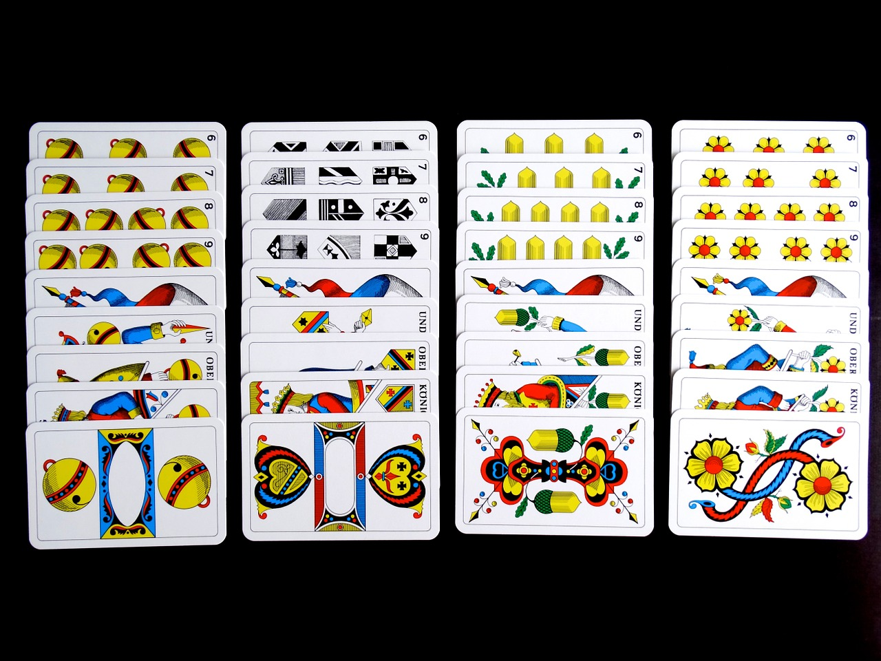 cards jass cards card game free picture