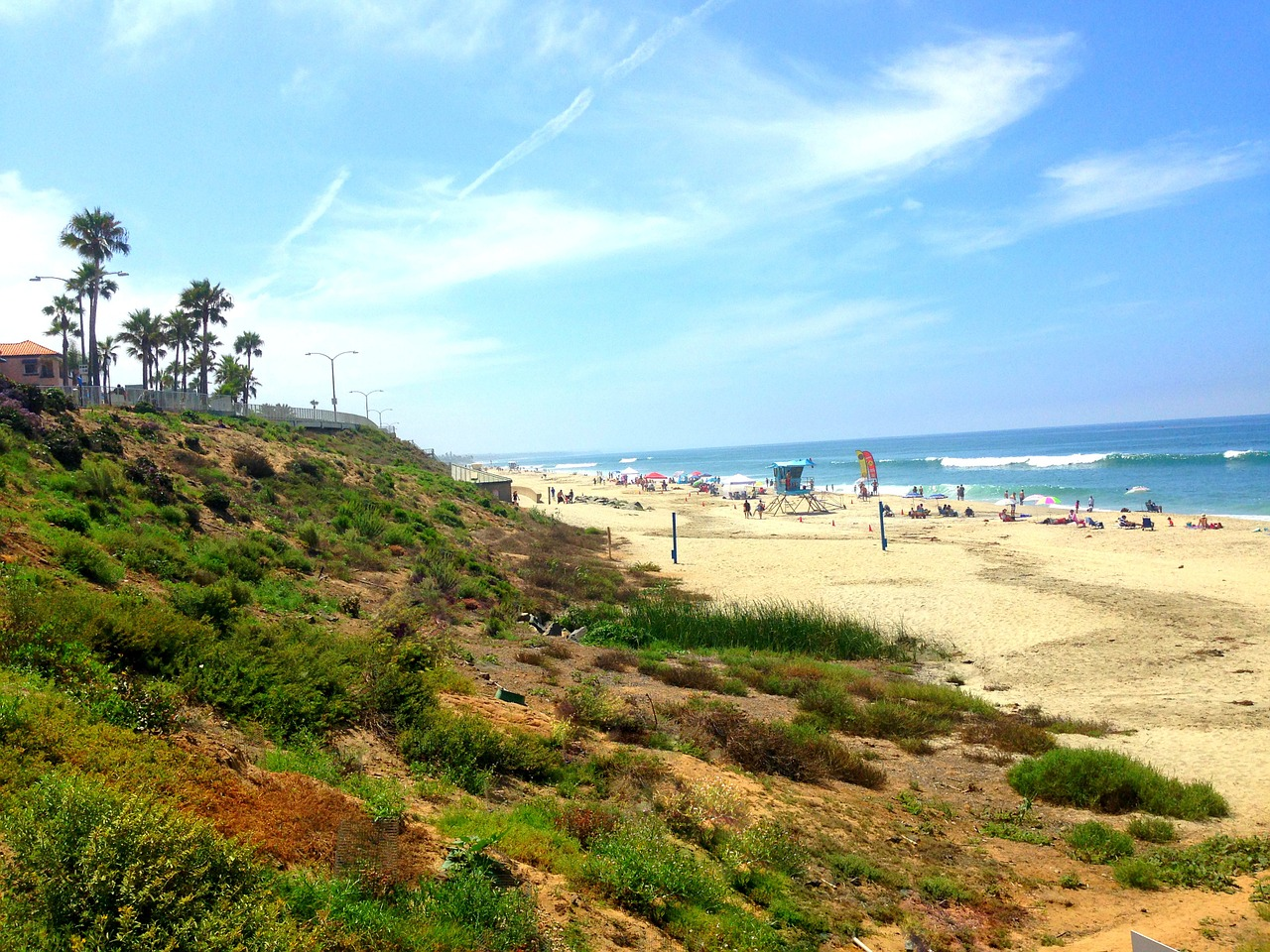 carlsbad beach san diego california beach free photo