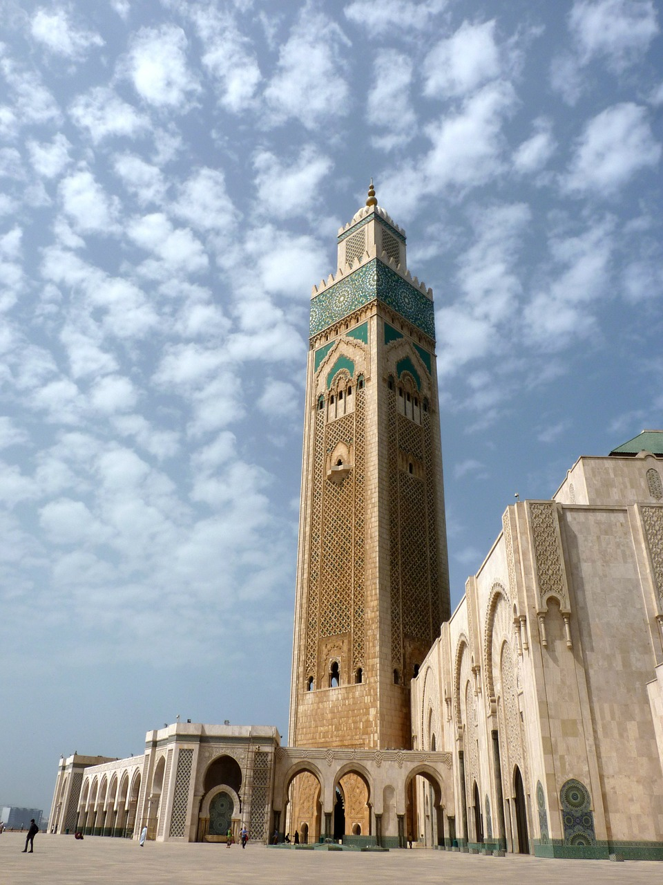 casablanca mosque morocco free photo