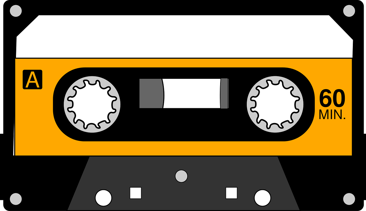 cassette music format recording free photo