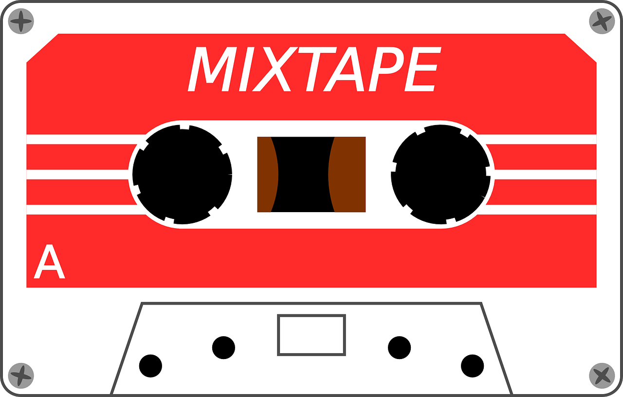 cassette tape magnetic tape free photo