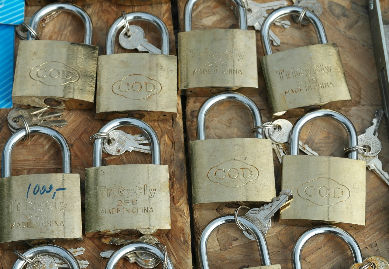 castle security locks to free photo