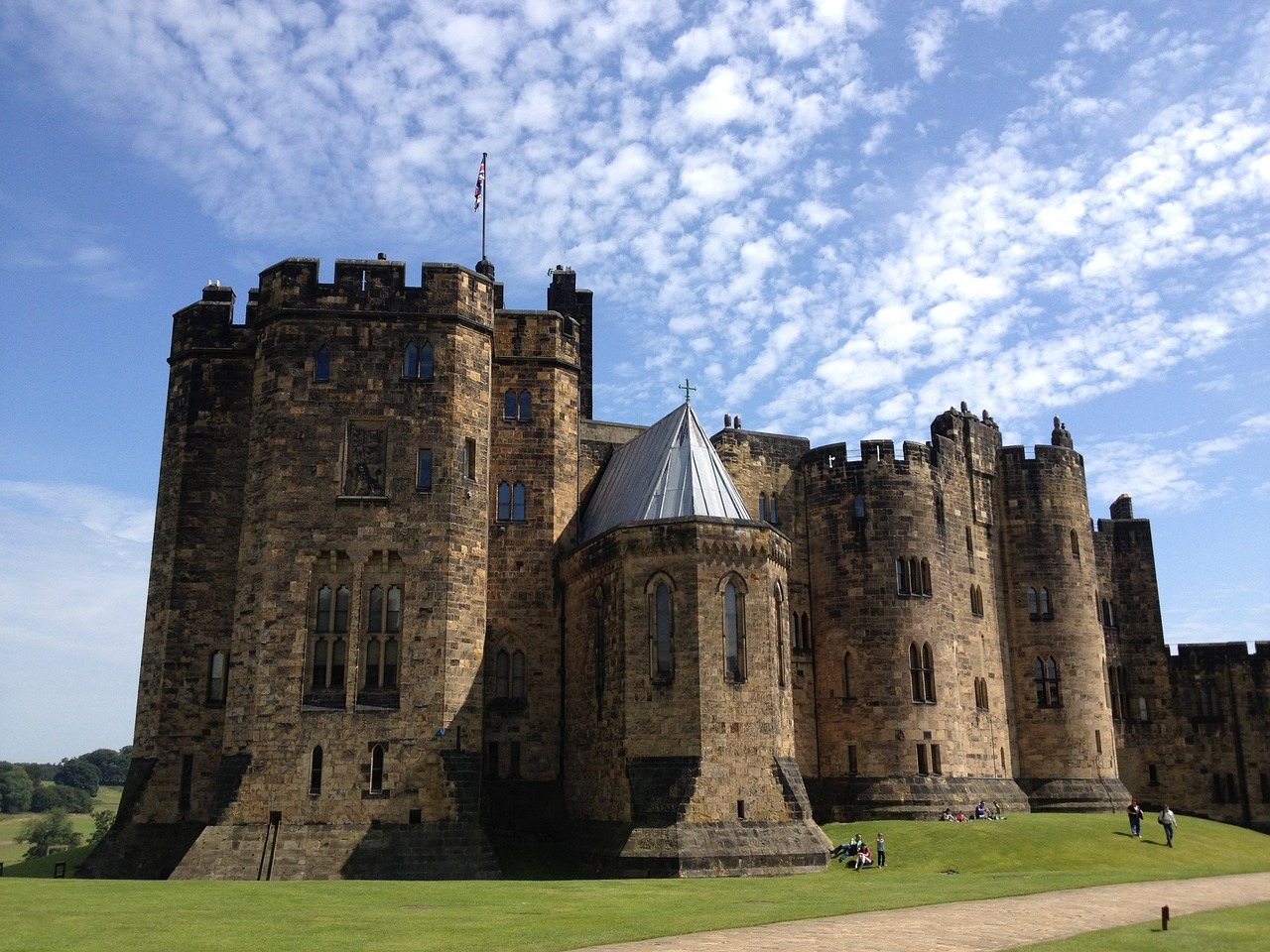 castle great britain harry potter free photo