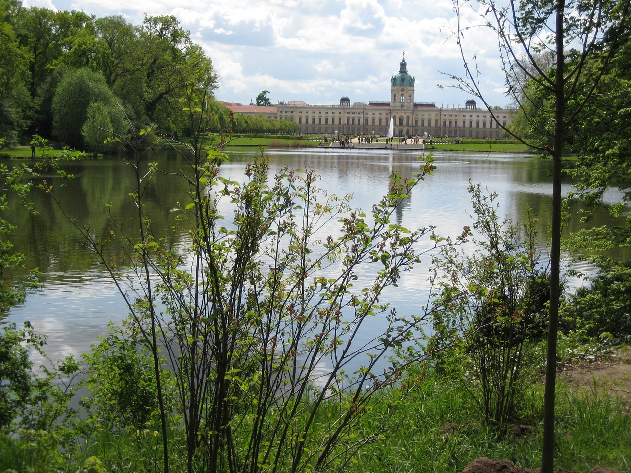 castle berlin charlottenburg palace free photo