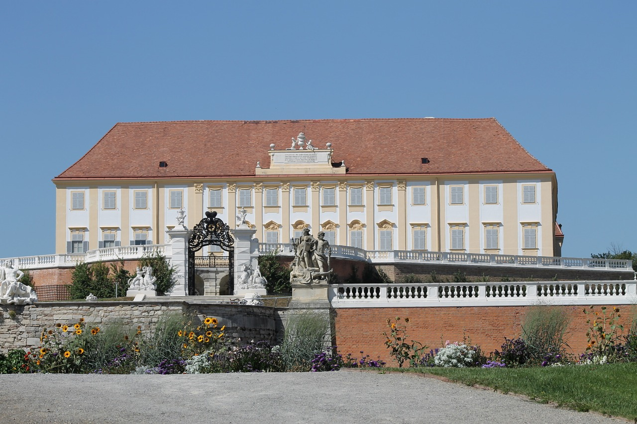castle court marchfeld lower austria free photo