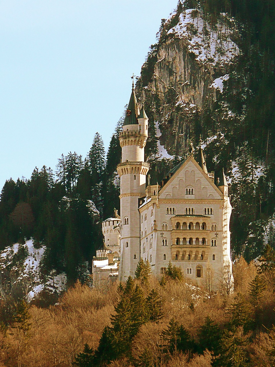 castle neuschwanstein bavaria germany free photo