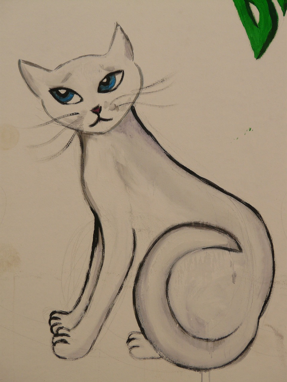 cat drawing image free picture