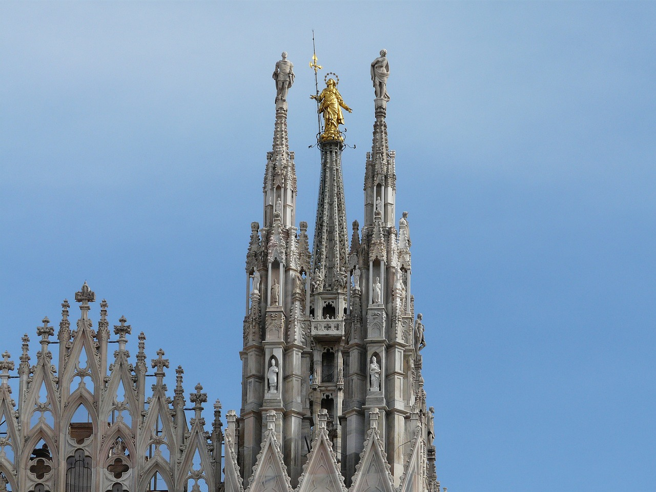 cathedral milan architecture free photo