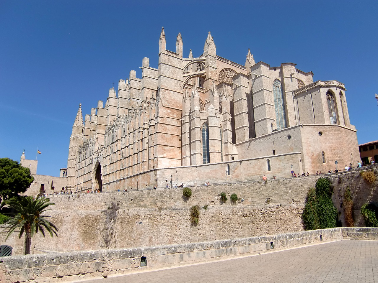 cathedral church spain free photo