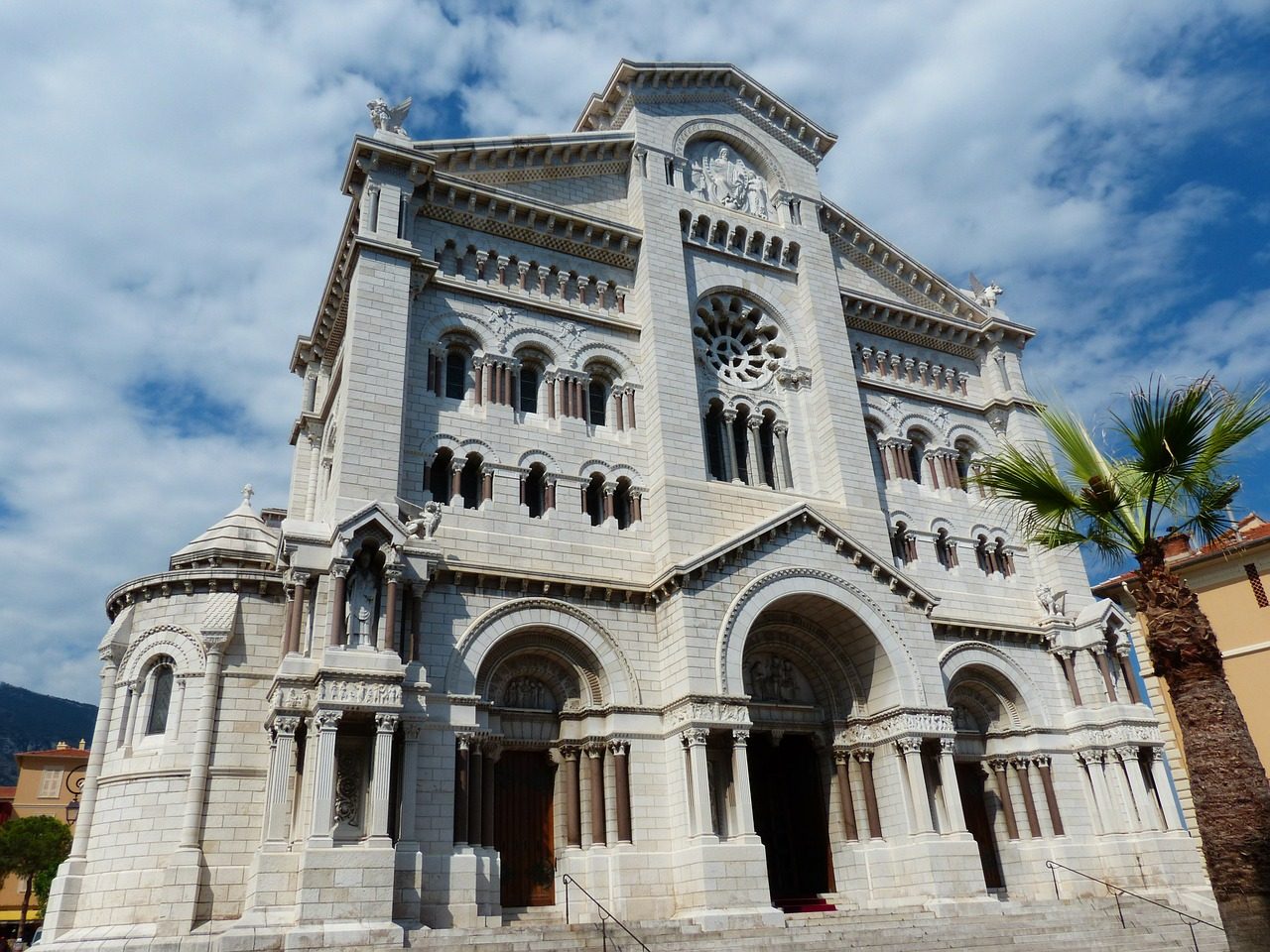 cathedral notre dame immaculée monaco free photo