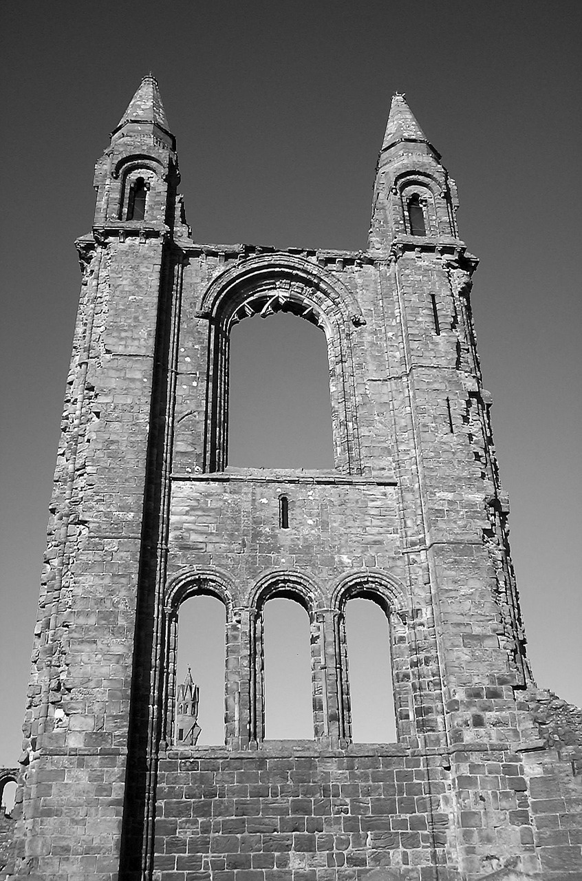 cathedral st andrews scotland free photo