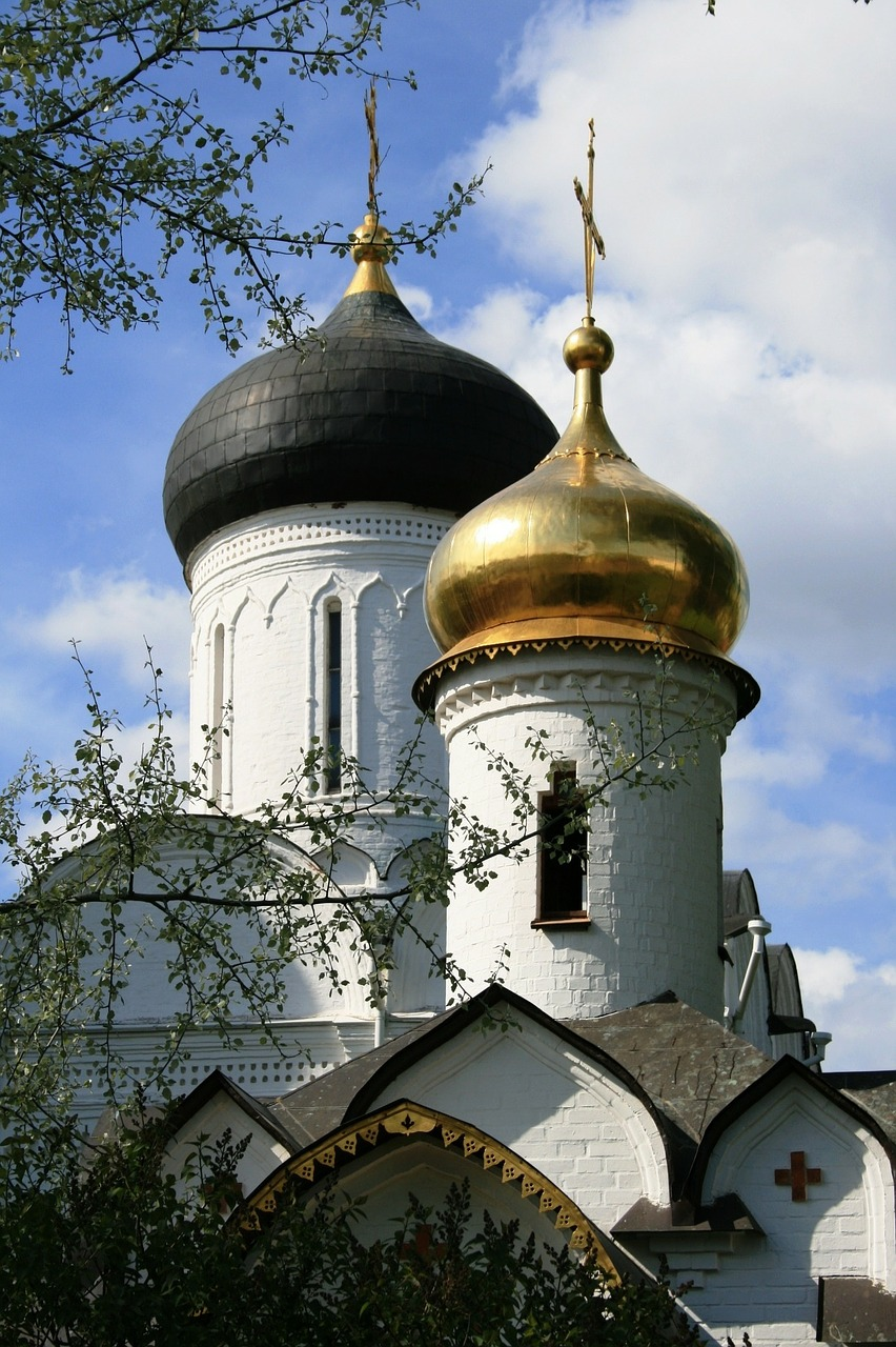 cathedral russian church free photo