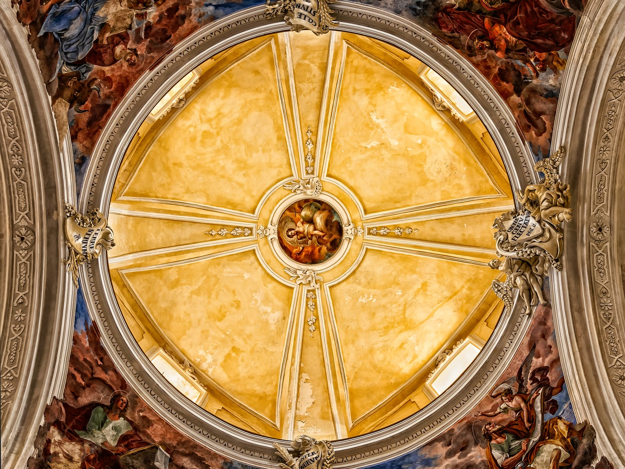 cathedral  dome  church free photo