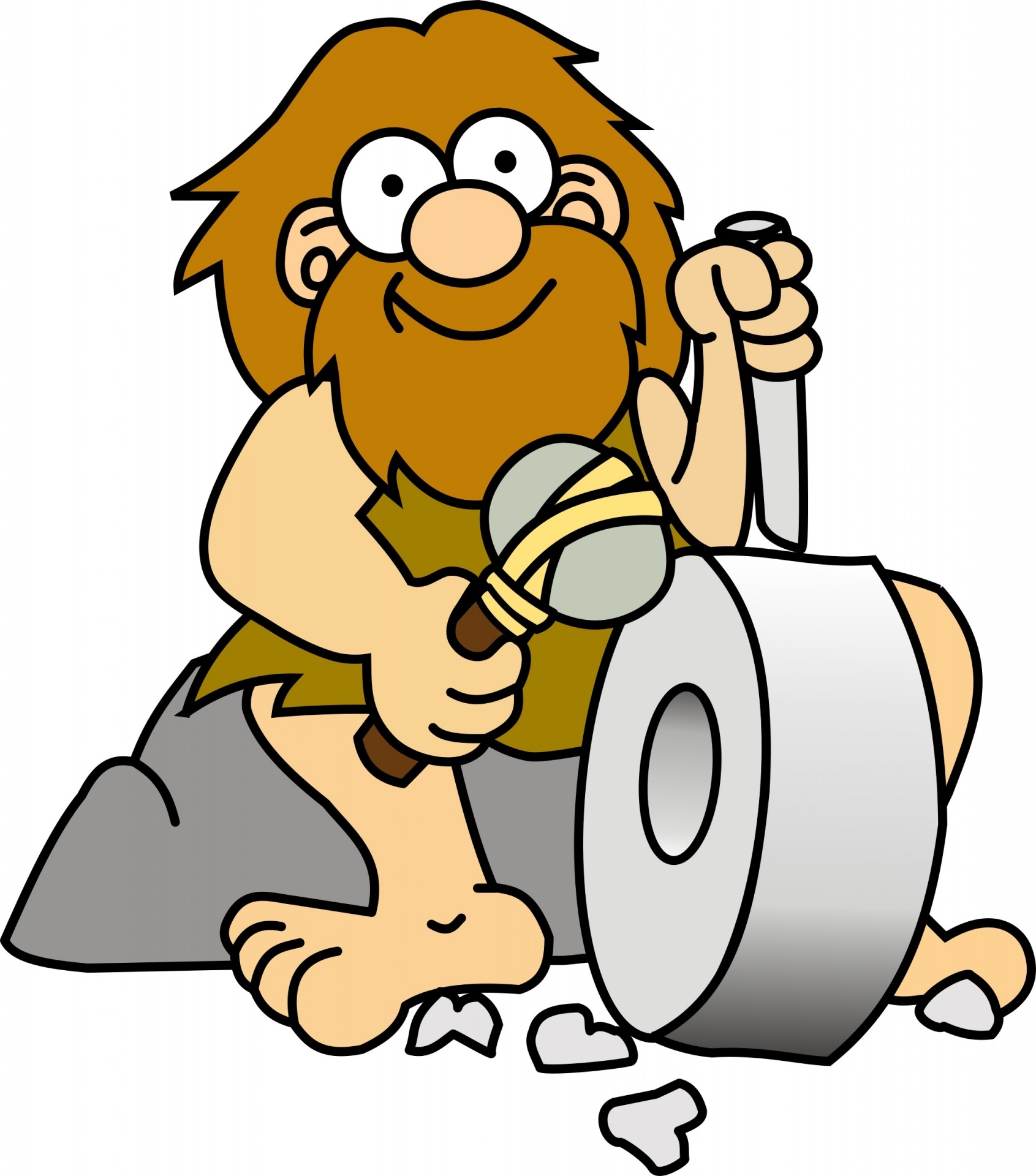 Image result for stone age clipart