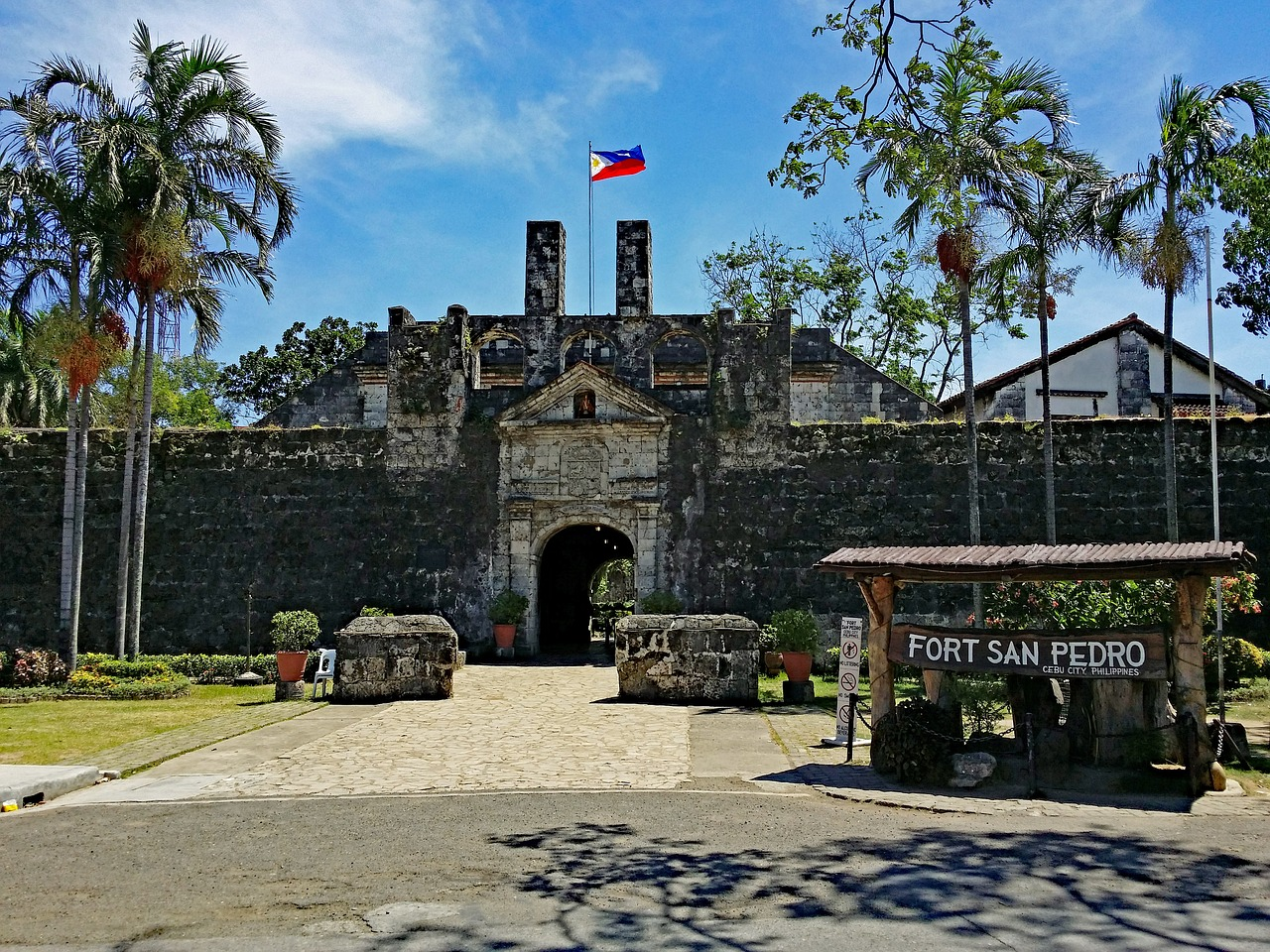 cebu philippines fort free photo