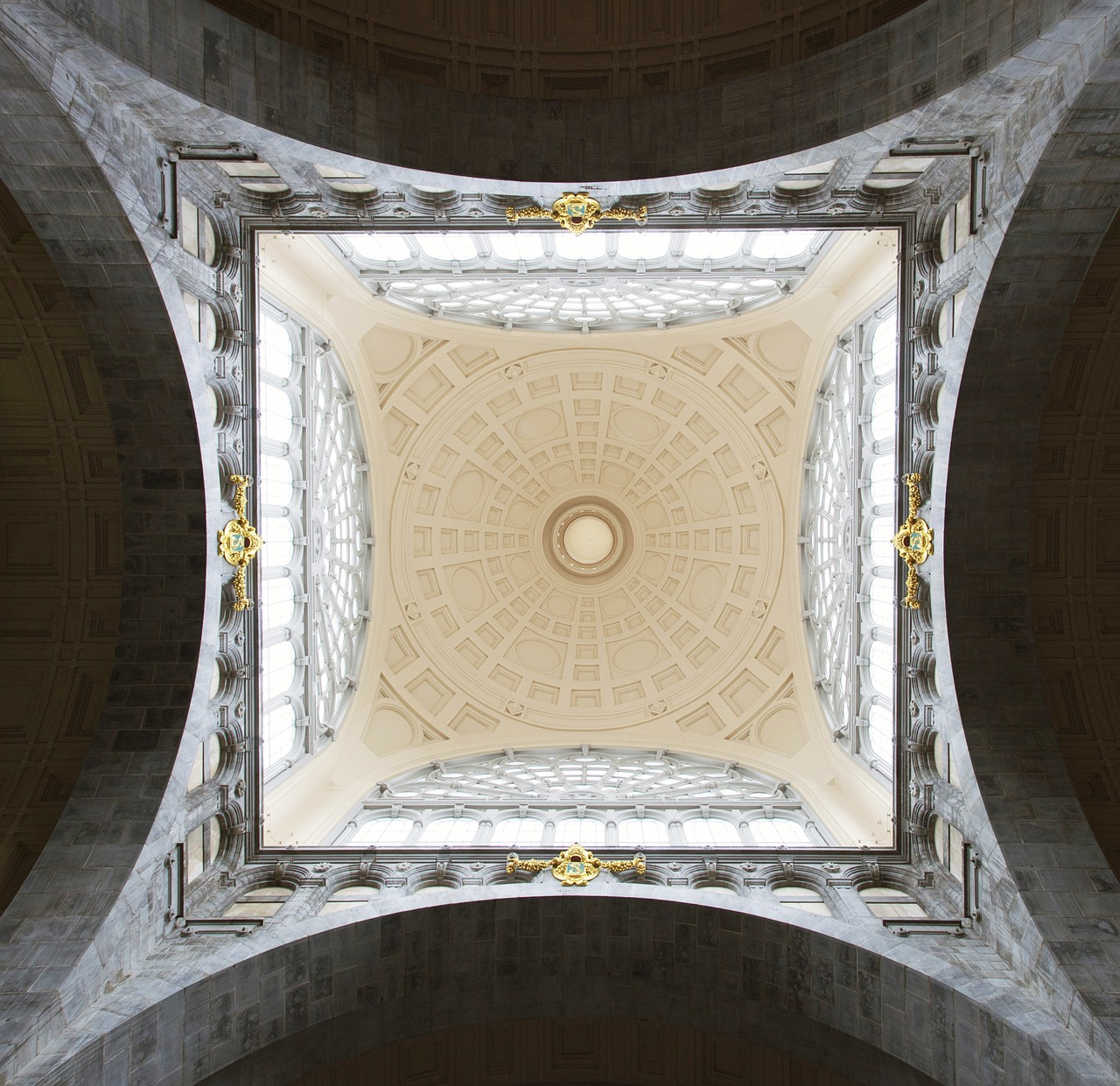 ceiling church ceiling painting free photo