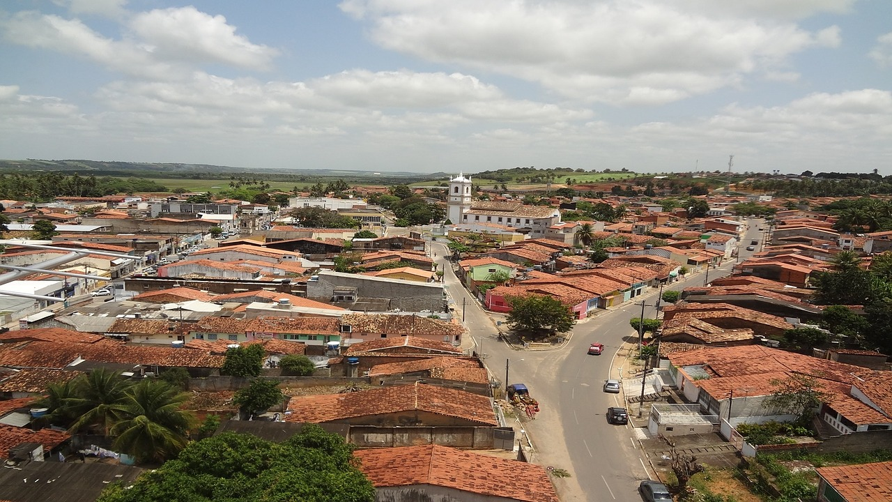 center coruripe cities of alagoas beautiful northeastern city free photo