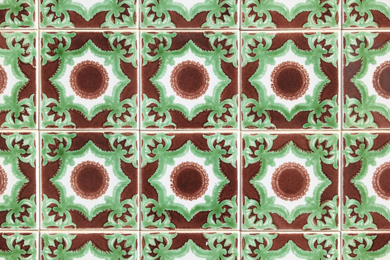 ceramic portugal tiles free photo