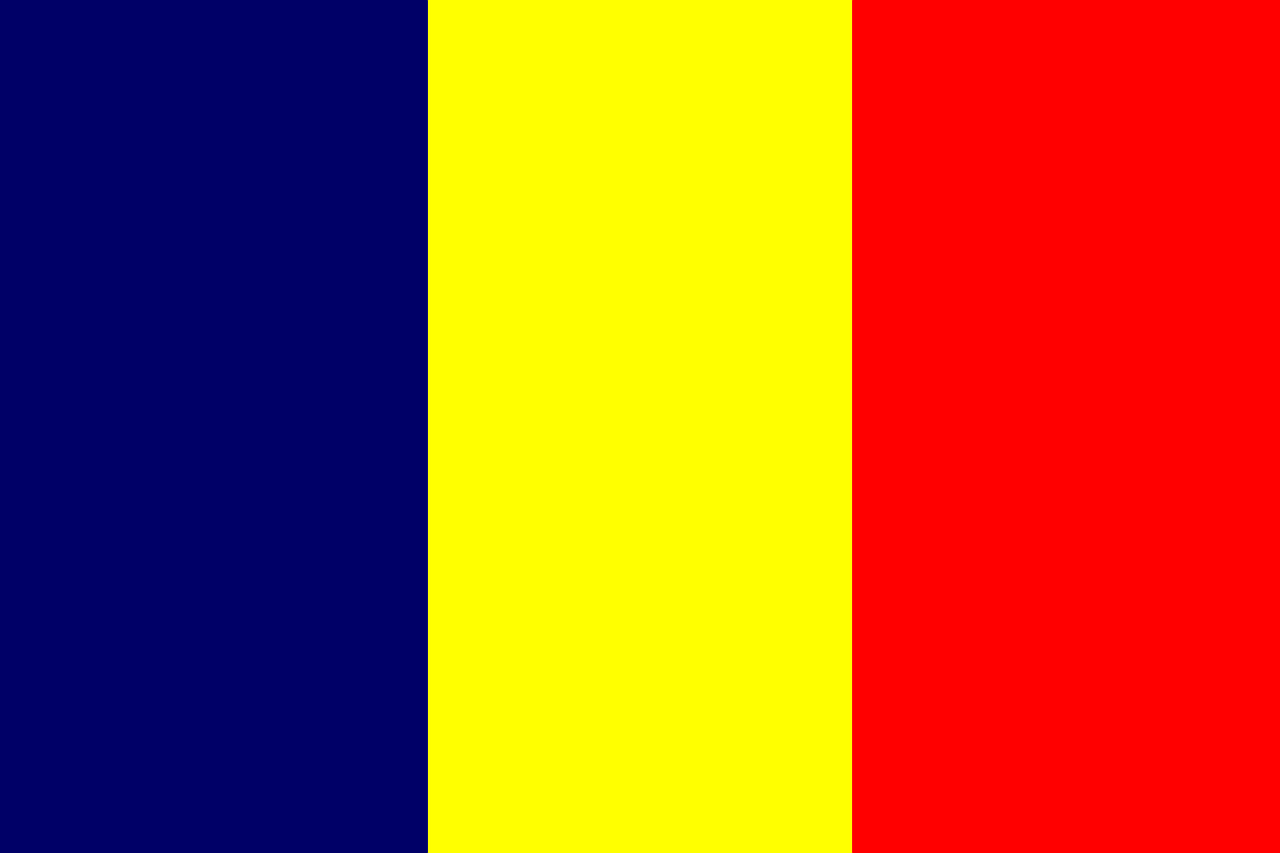 chad flag national free photo