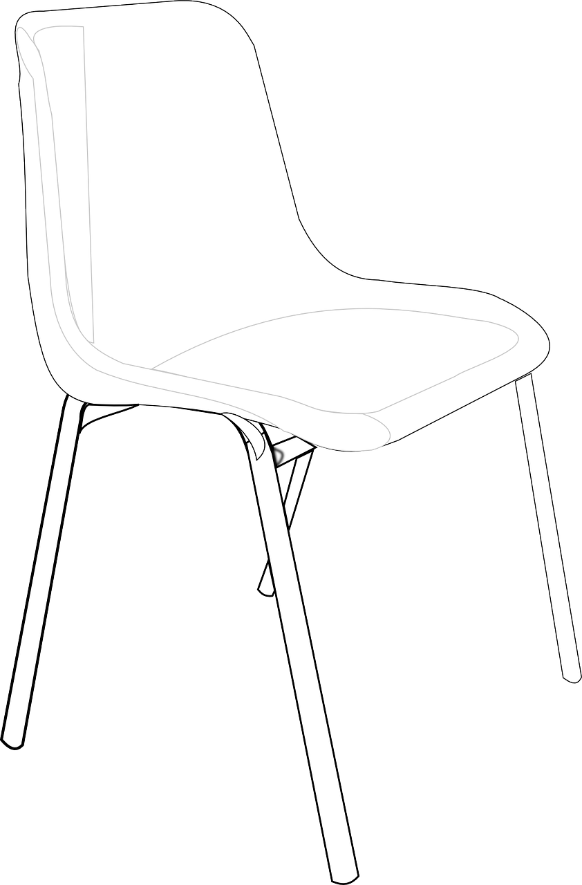 chair,furniture,moulded,plastic,light-weight,portable,outdoor,versatile,free vector graphics,free pictures, free photos, free images, royalty free, free illustrations, public domain