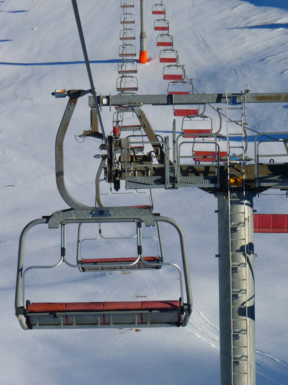 chairlift lift skiing free photo