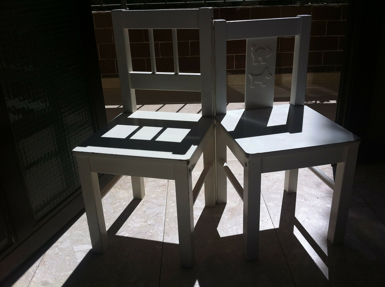 chairs shadow furniture free photo