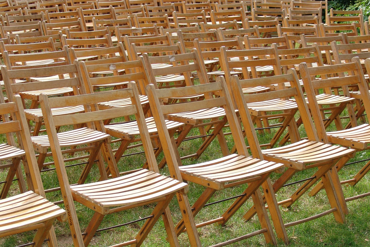 chairs sit reservation free photo