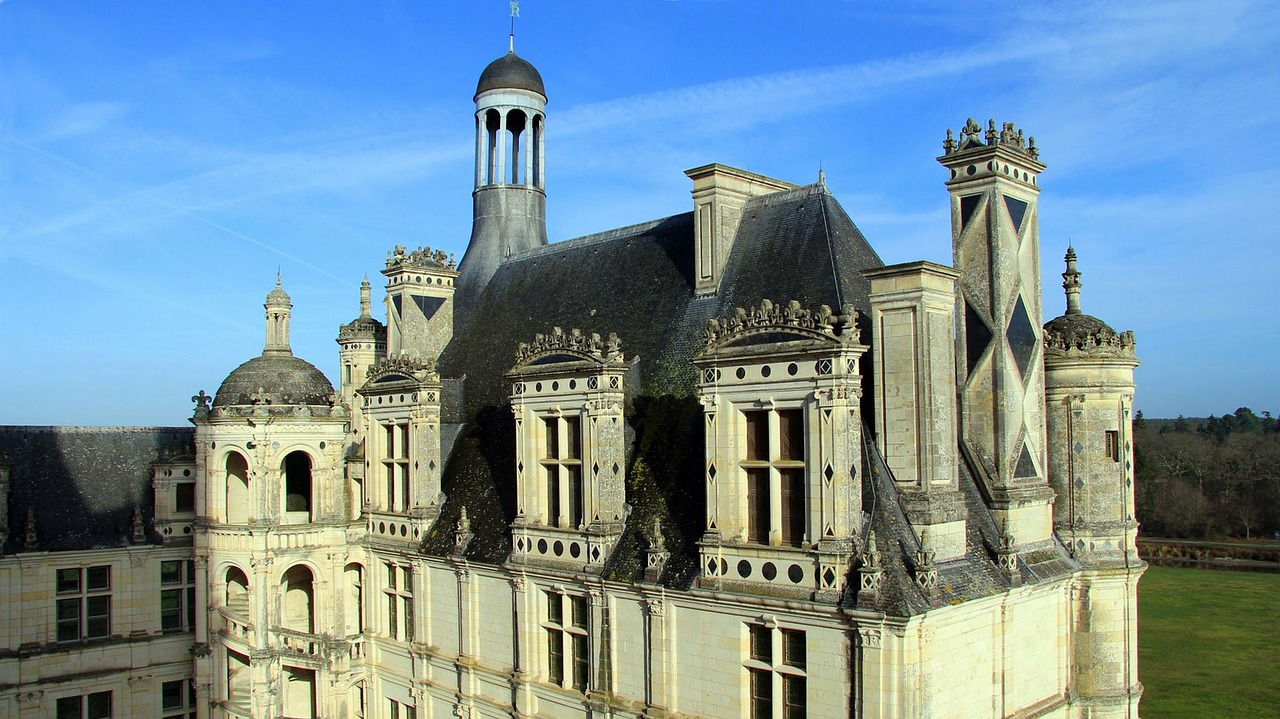 chambord castle france free photo