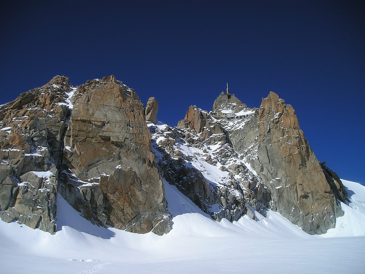 chamonix aiguille du midi south side free picture