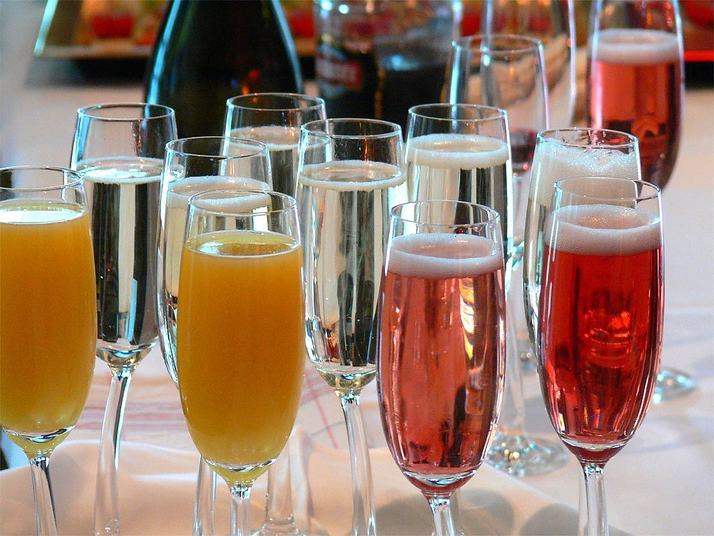champagne,beverages,orange juice,champagne glasses,free pictures, free photos, free images, royalty free, free illustrations, public domain