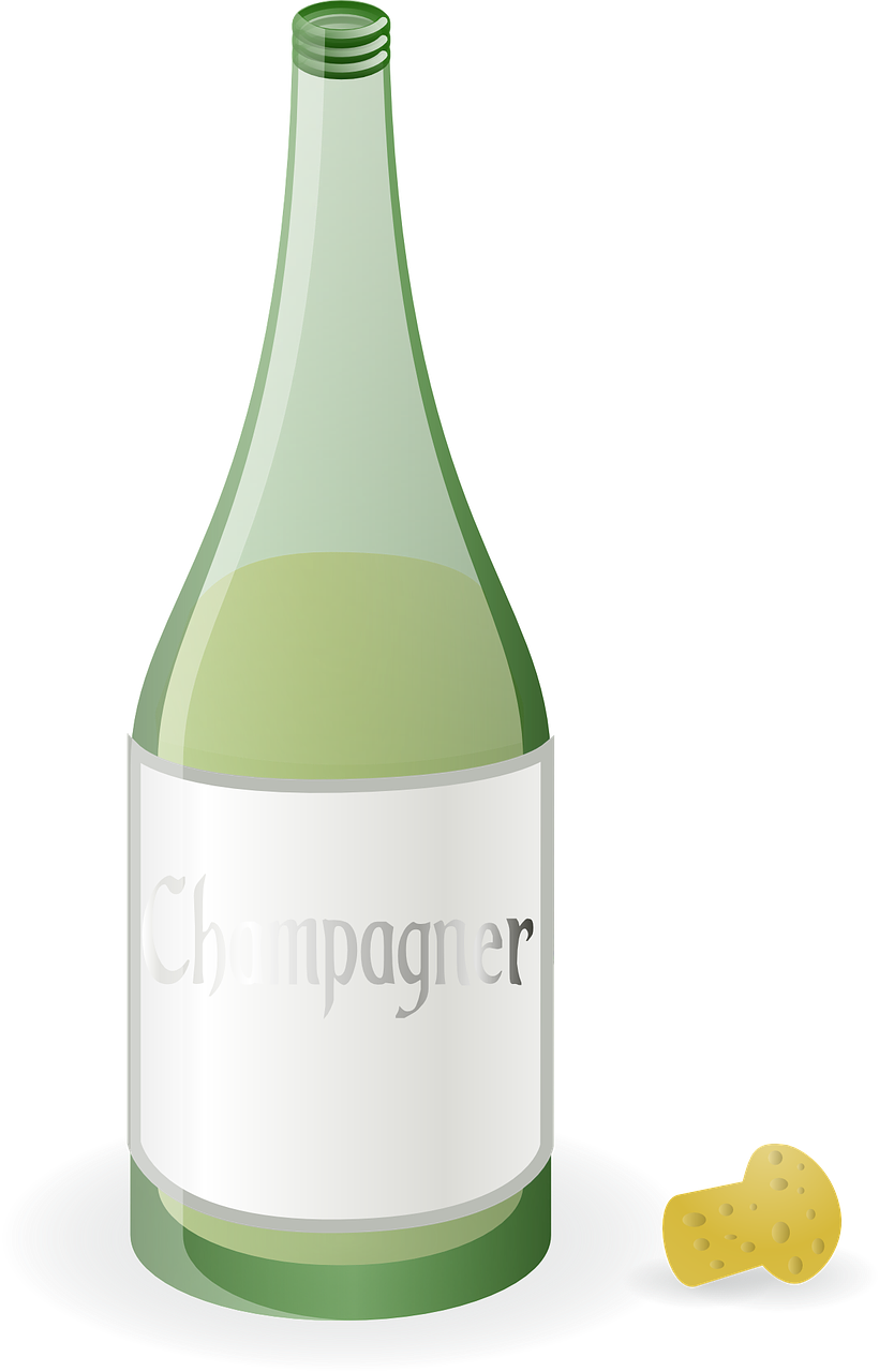 champagne,bottle,green,beverage,alcohol,cork,liquor,celebration,luxury,toast,object,bar,anniversary,romantic,cocktail,crystal,bubbly,fizz,drinking,sparkling,product,congratulations,exploding,uncork,booze,free vector graphics,free pictures, free photos, free images, royalty free, free illustrations, public domain