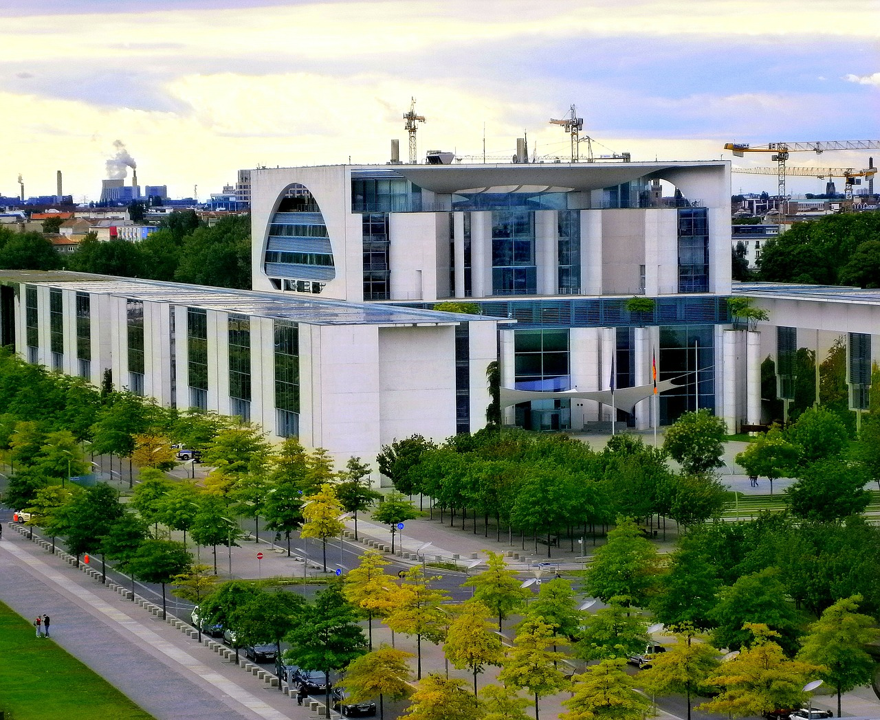 chancellery berlin germany free photo