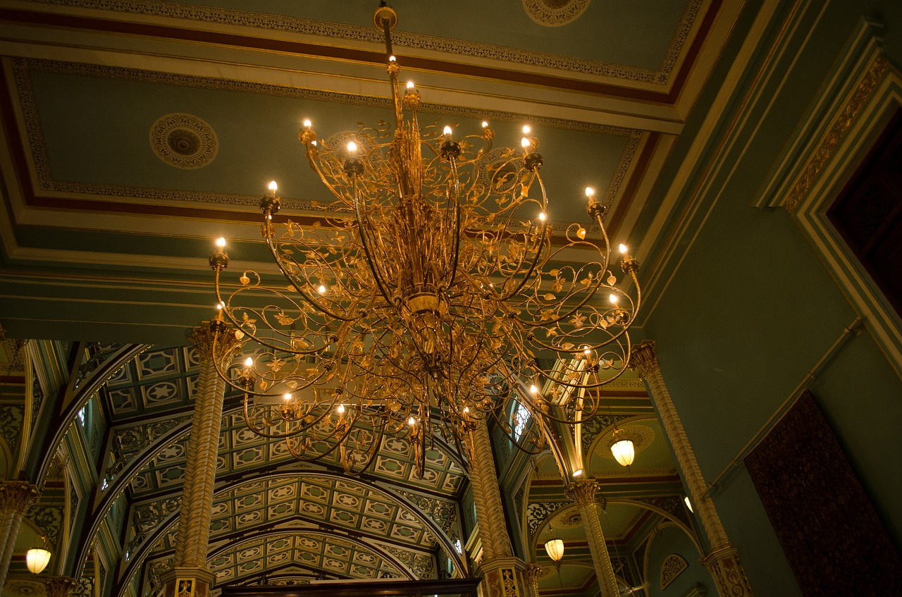 chandelier lights interior free picture