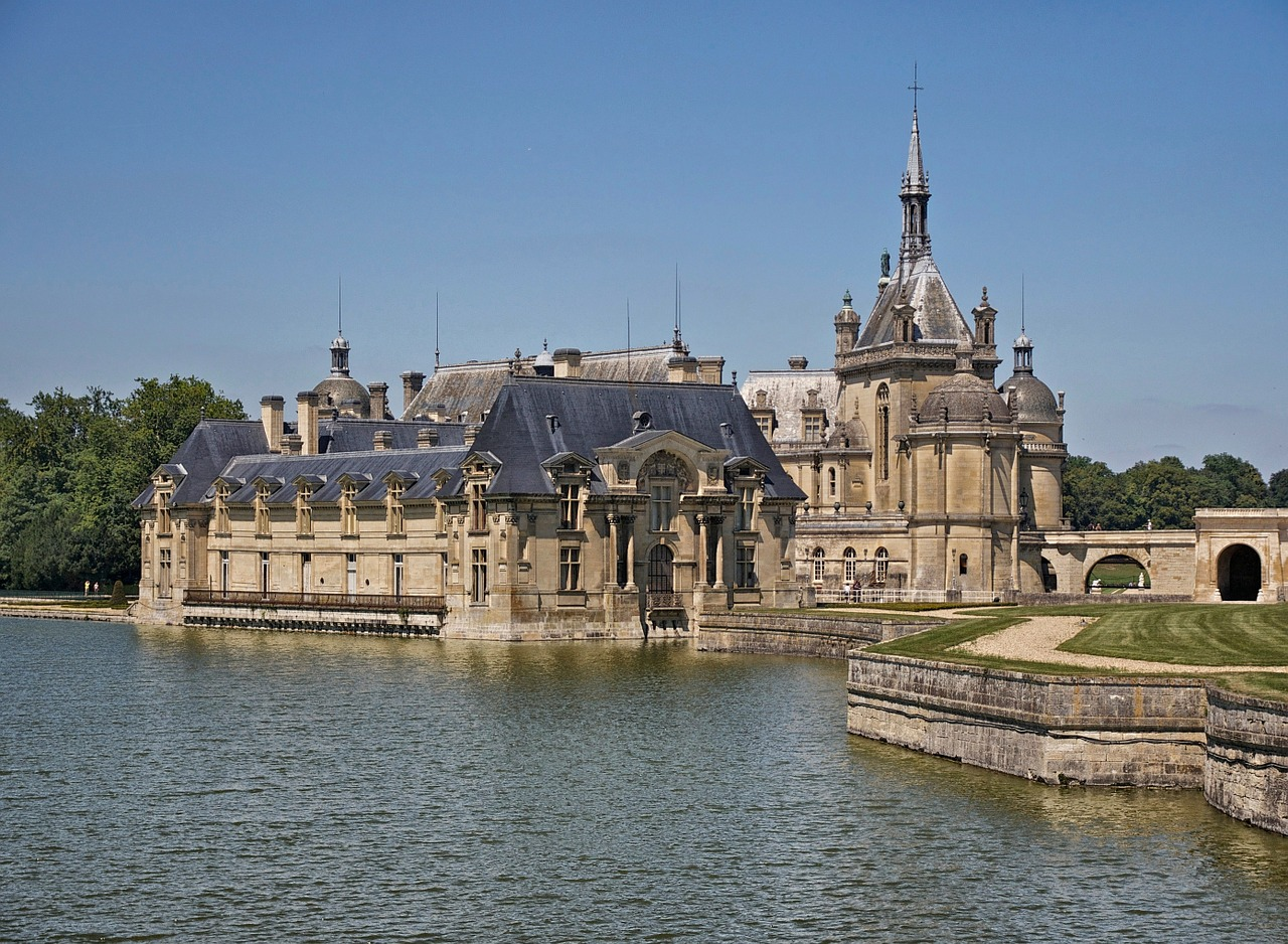 chantilly france palace free photo