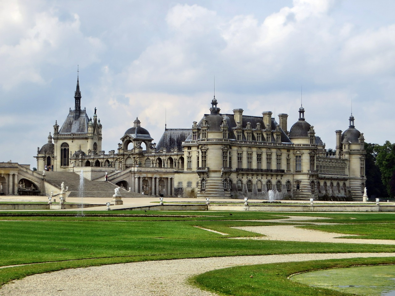 Image result for Château de Chantilly