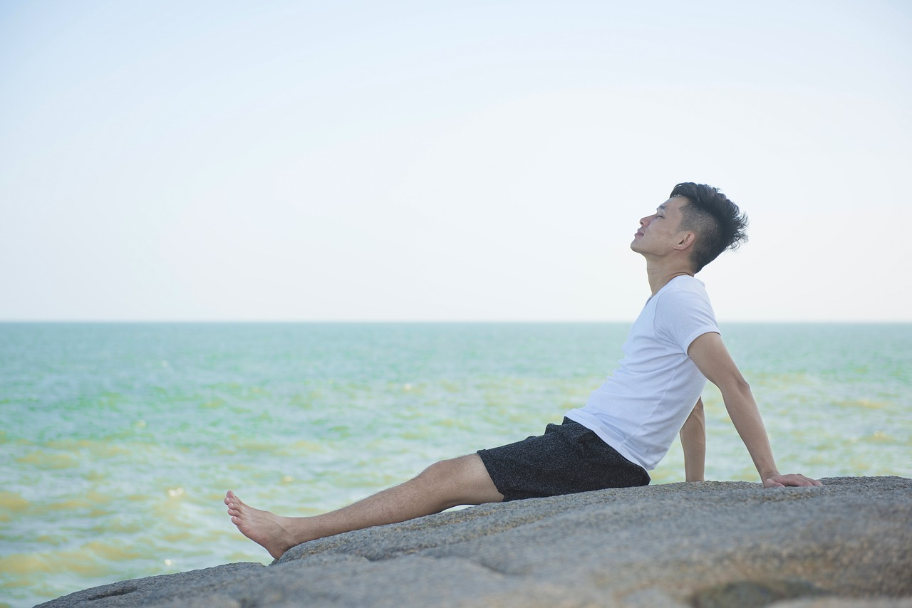 Character,beach,sea breeze,enjoy,young people - free image from needpix.com