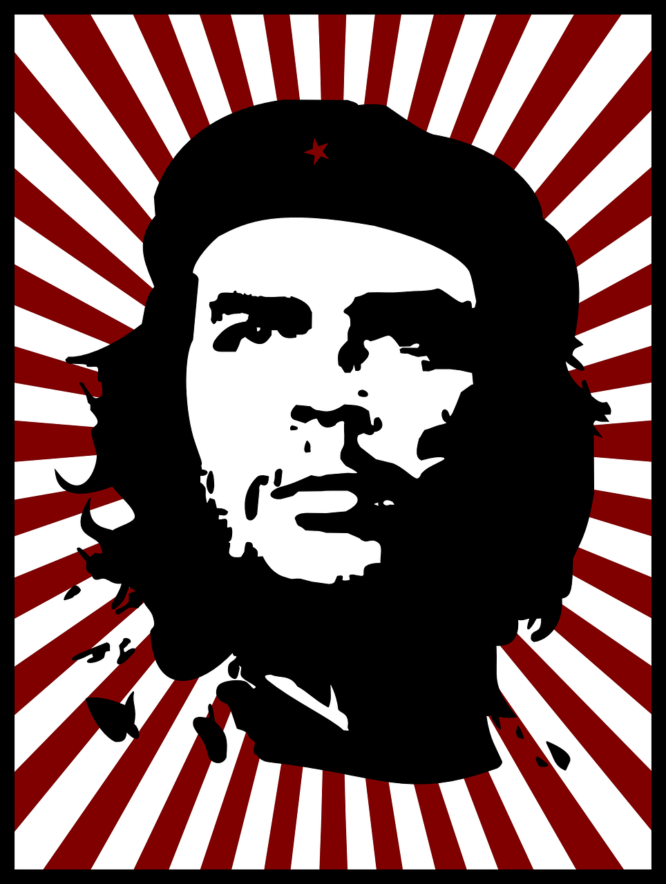 che guevara red free photo