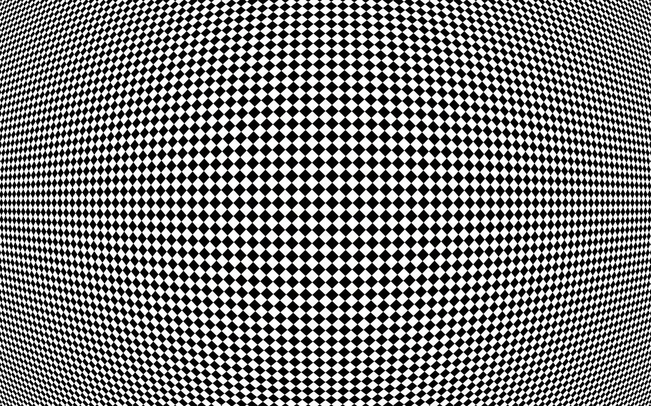 Checkers Black White Free Picture