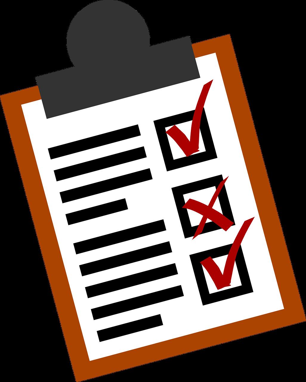 Checklist,lists,business,form,checkbox - free image from needpix.com