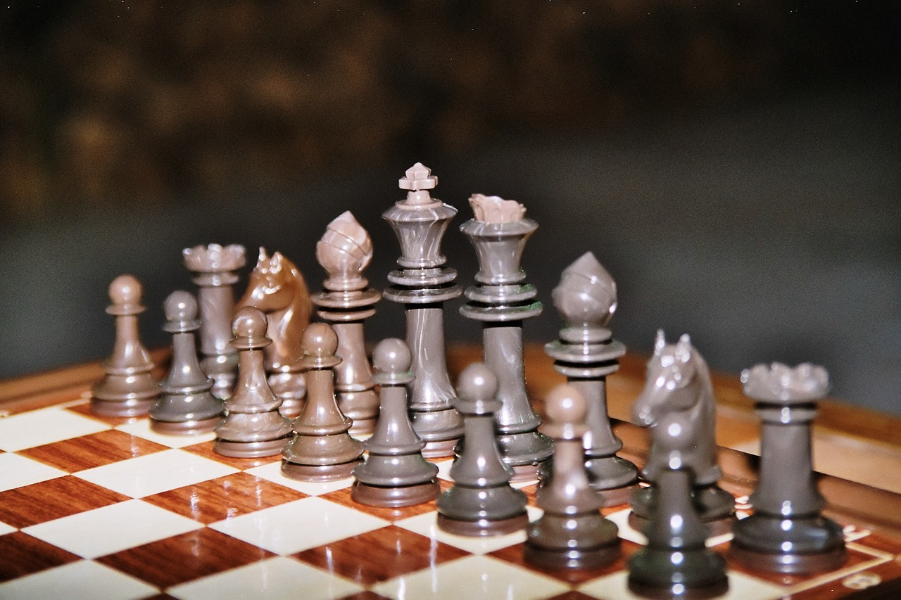 chess play chess board free photo