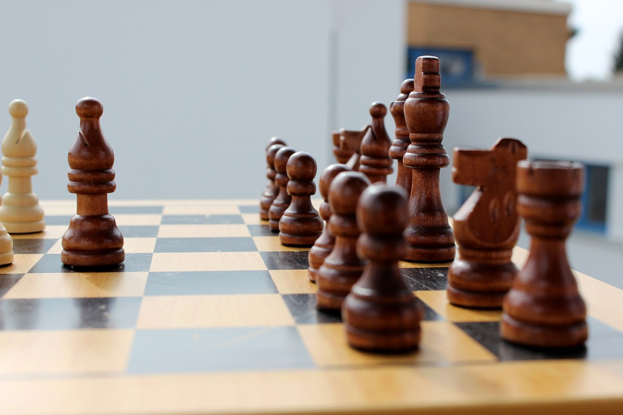 chess play king free photo