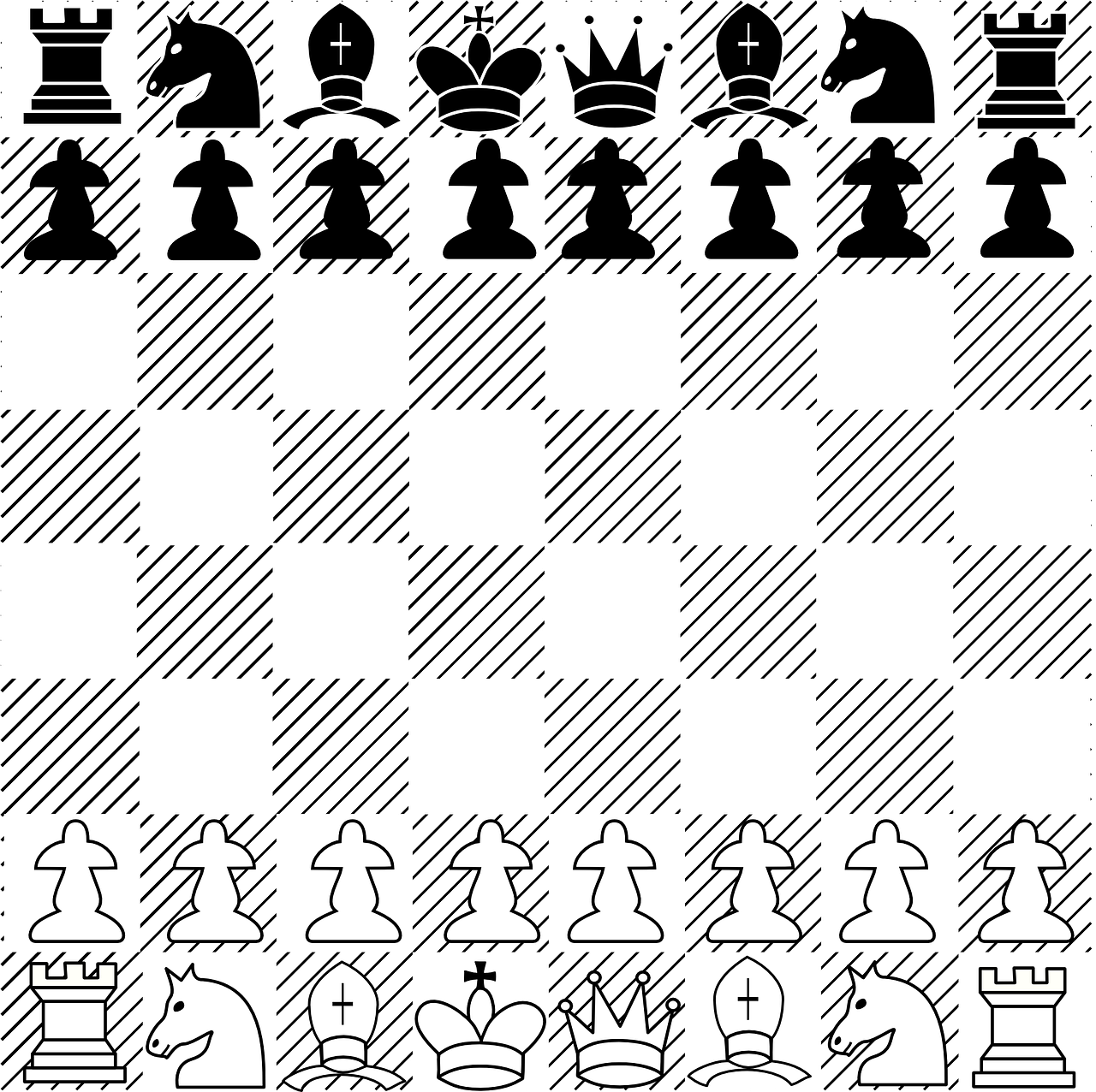 chess board game free photo