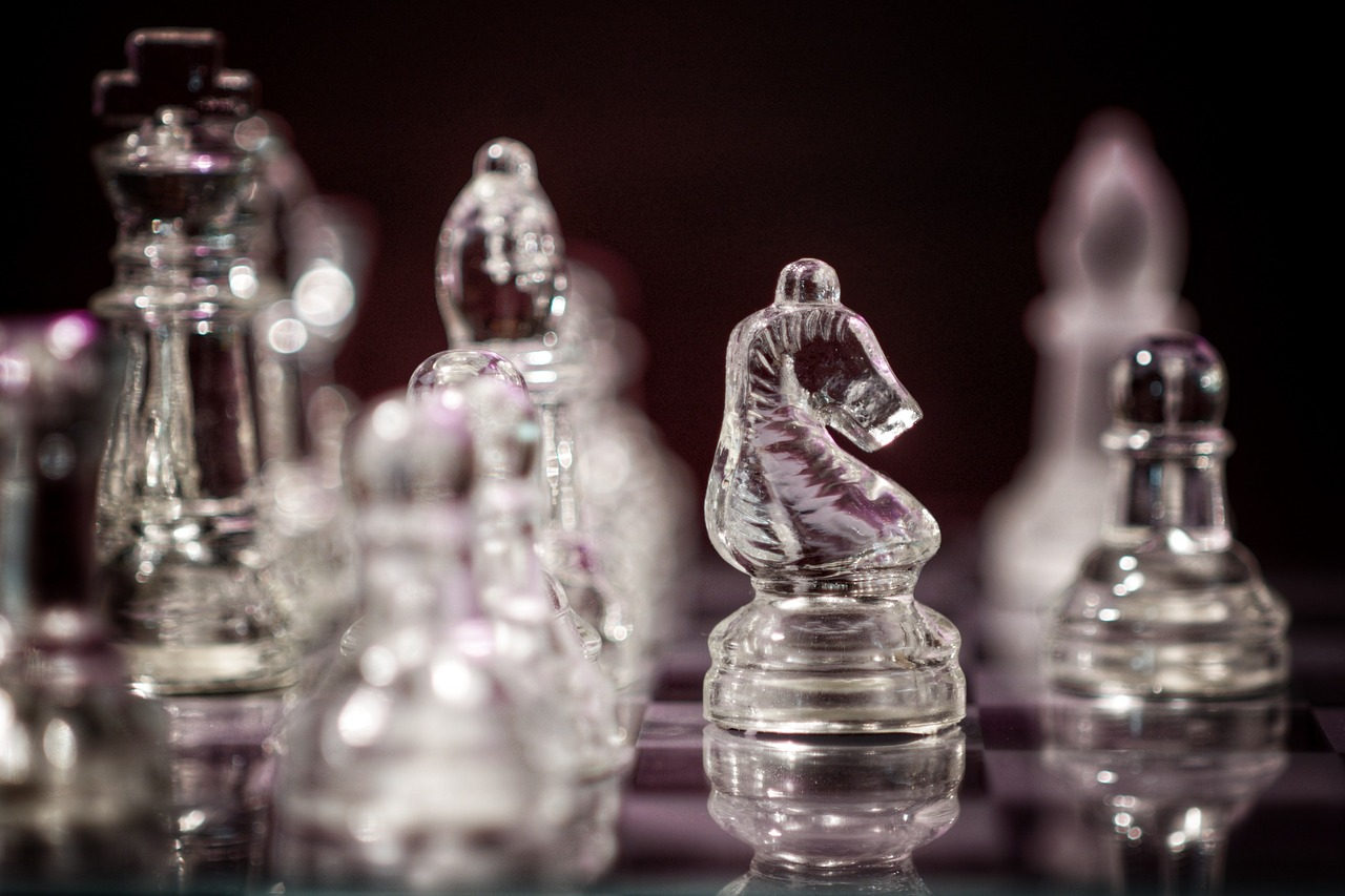 chess board game springer free photo