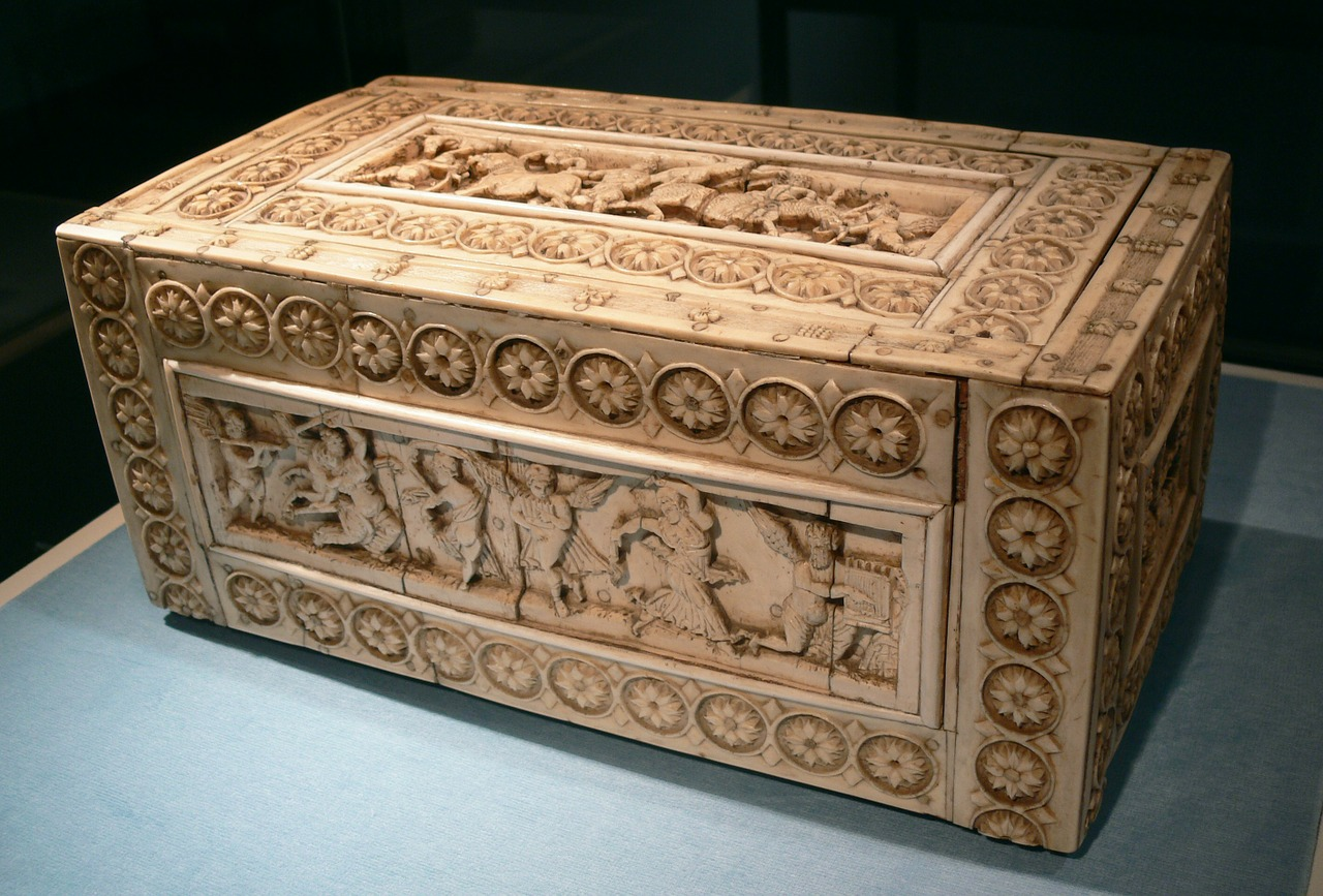chest,casket,byzantine,ivory casket,ivory,decorated,treasure chest,box,ornament,free pictures, free photos, free images, royalty free, free illustrations, public domain