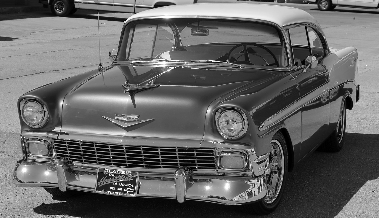 chevy chevrolet bel air free photo
