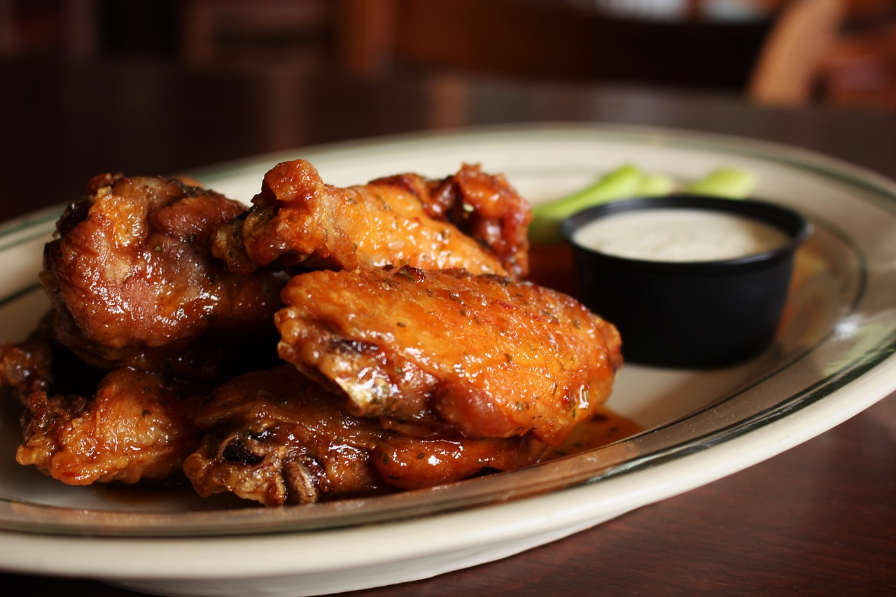 Chicken,wings,ranch,free pictures, free photos - free image from needpix.com