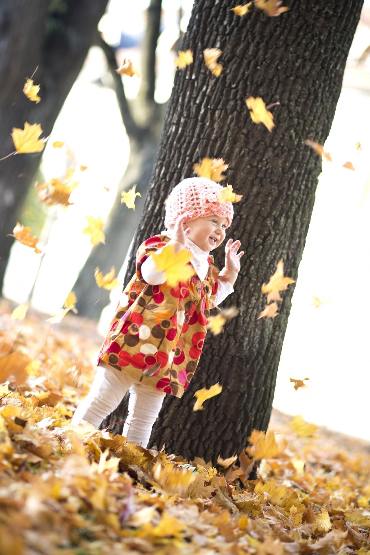 Мерцающие пасху, картинки осень дети собирают листья